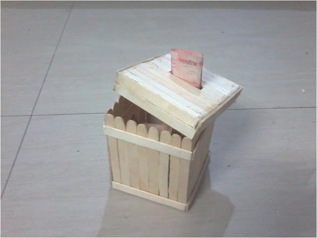 Evdeki Malzemelerden Kumbara Yapımı