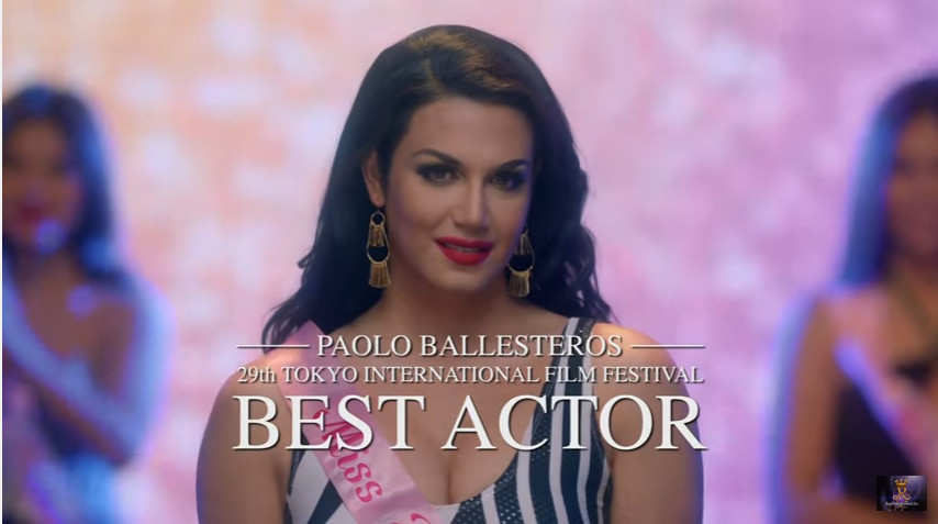 Die Beautiful 2016 official metro manila film festival 2016 entry starring Paolo Ballesteros who won the best actor in the 29th Tokyo International Film Festival 2016