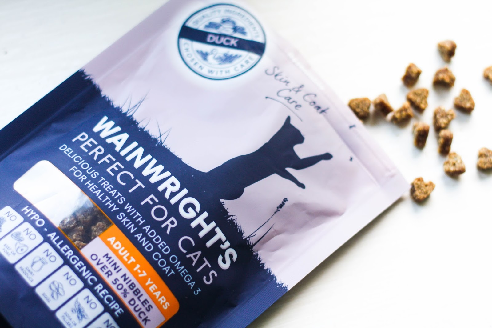 Feline Foodology: Mini duck nibbles by Wainwright's