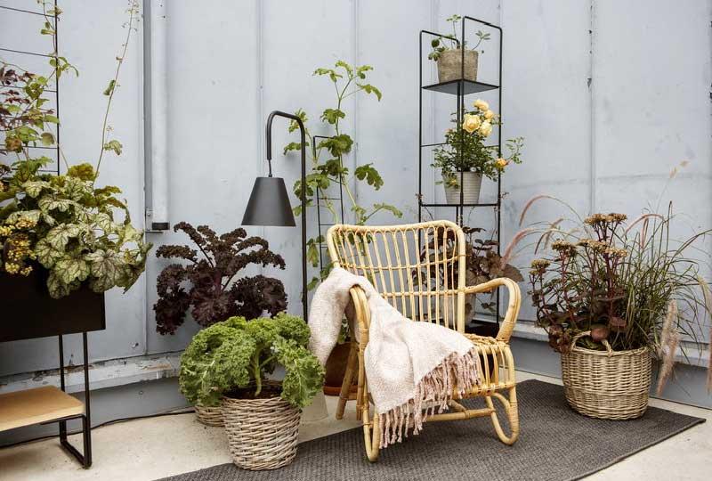 supporti per piante da balcone