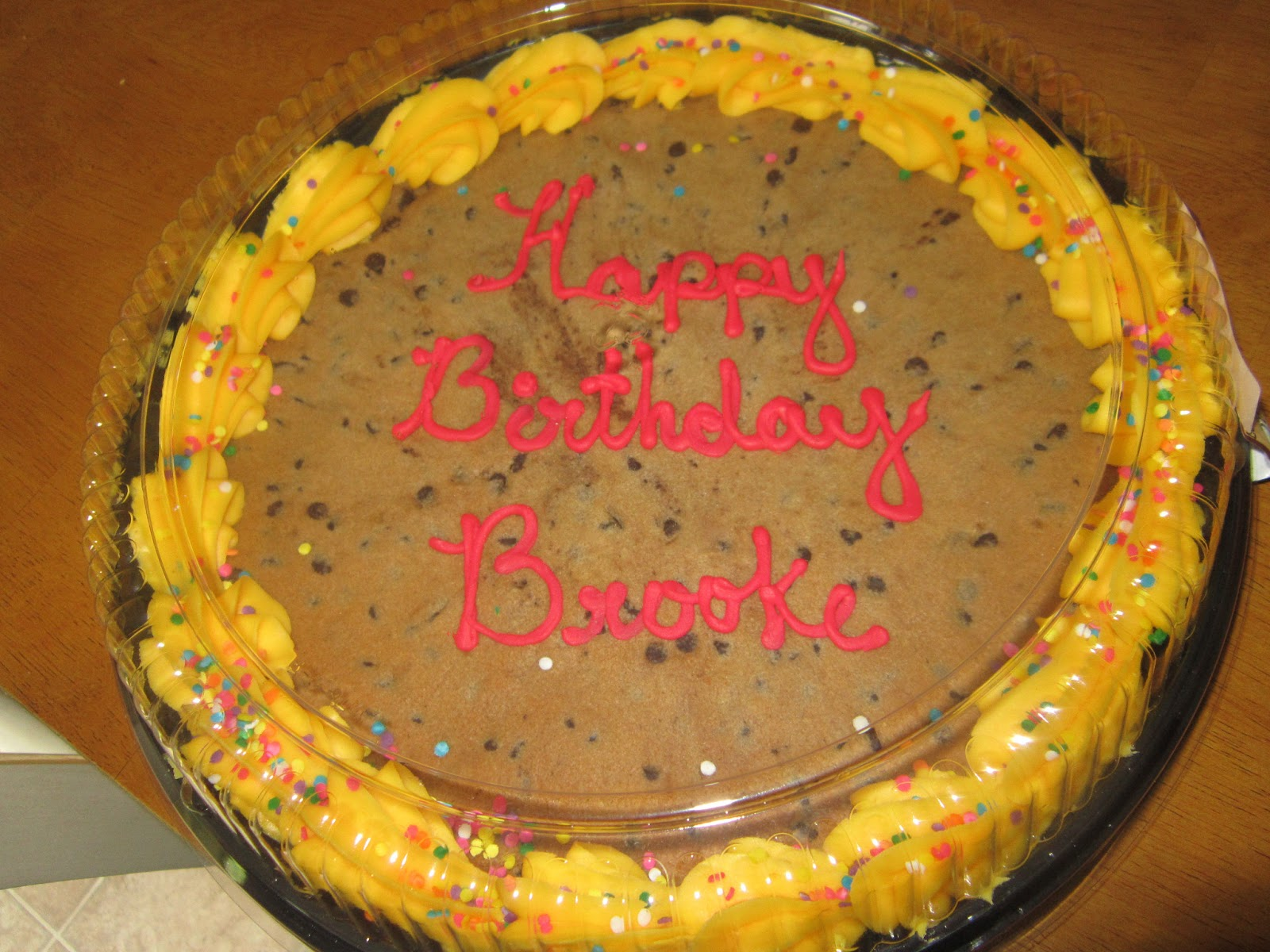 Giant Cookie Cake Kroger Cake Recipe
