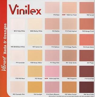 Inspirasi 54 Warna Cat Salem Vinilex