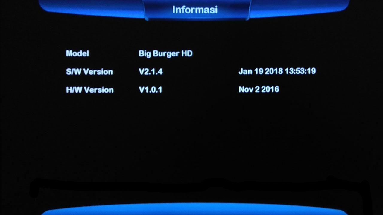 Software Matrix Big Burger HD Firmware SW Receiver
