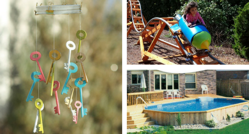 Easy DIY Backyard Fun Ideas - Backyard fun ideas