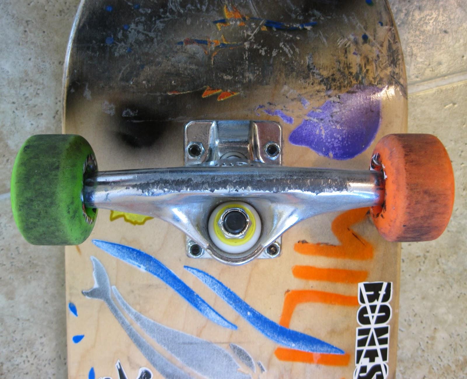 Skateboarding Is My Lifetime Sport Mini Logo Trucks Review