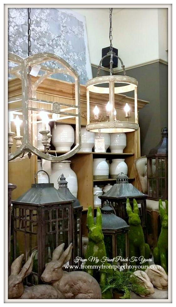 Farmhouse Lighting-Laurie's Home Furnishings- From My Front Porch To Yours