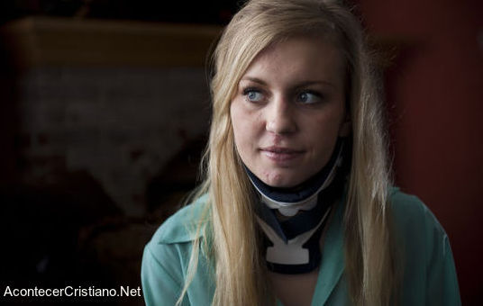 Mujer despertó del estado de coma tras accidente