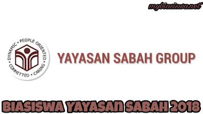 Biasiswa Yayasan Sabah 2018