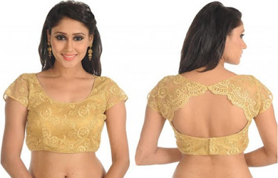 Indian-latest-fancy-sleeveless-blouse-designs-for-sarees-5