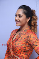 Actress Mumtaz Sorcar Stills in Short Dress at Guru Movie Success meet  0067.JPG