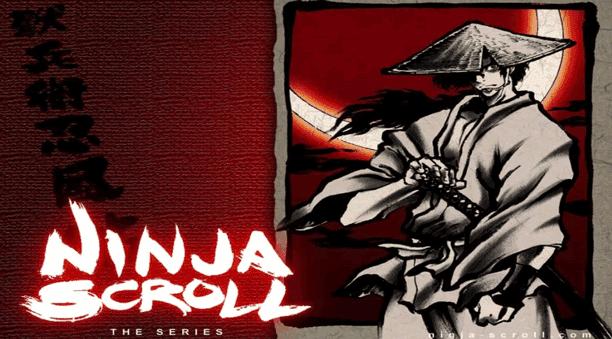 Ninja Scroll - Daftar Anime Gore Terbaik