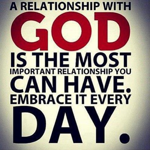 verses on the importance of a relationship with god