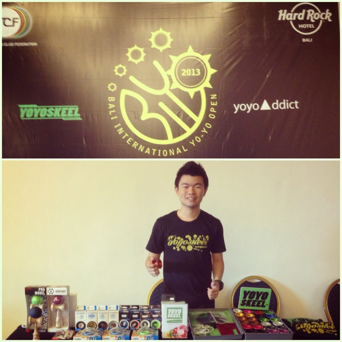 YOYOSKEEL POP UP BOOTH IN HARD ROCK HOTEL BALI BIYO 2013