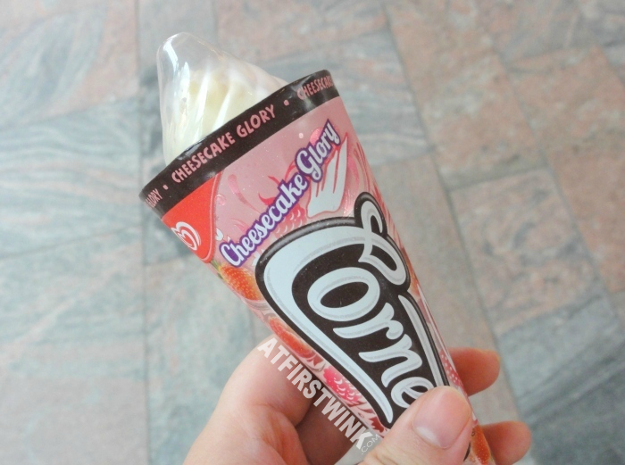 Review: Cornetto Cheesecake Glory