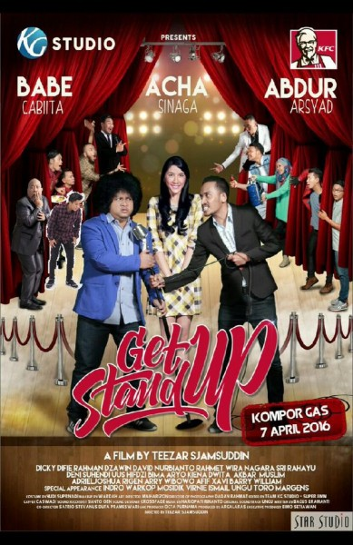 Get Up Stand Up, Perjuangan Babe Cabita Ikut Kompetisi Stand Up Comedy Indonesia