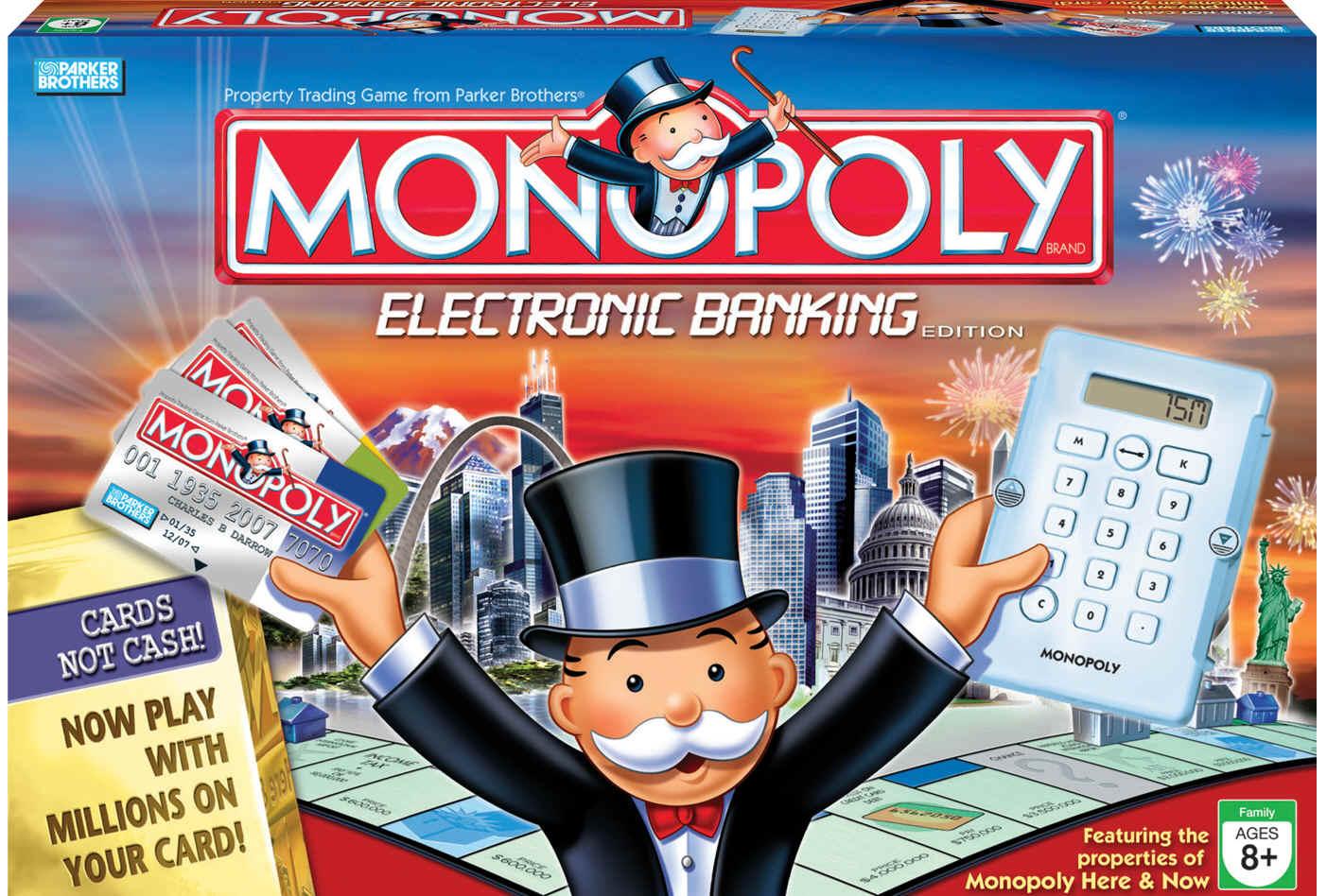 Monopoly es un juego de mesa de bienes raíces, hoy en día producido