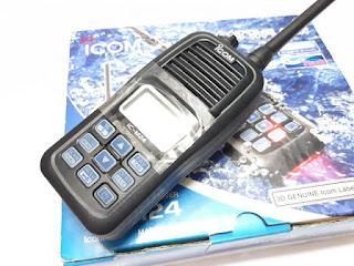 Icom IC-M24 New Frekuensi VHF