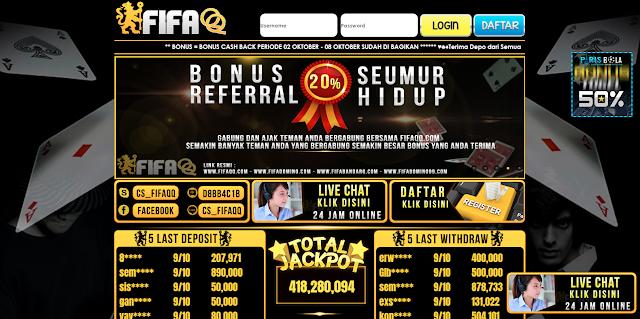 FifaQQ Situs Agen Judi Online Terbaik Dan Terpercaya