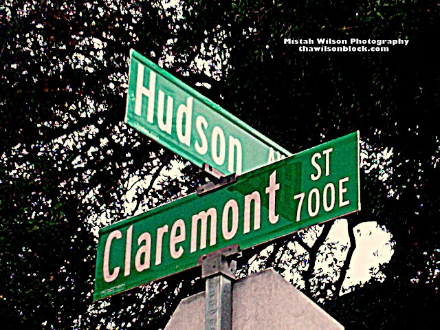 Hudson Avenue & 700 East Claremont Street, Pasadena, California by Mistah Wilson Photography