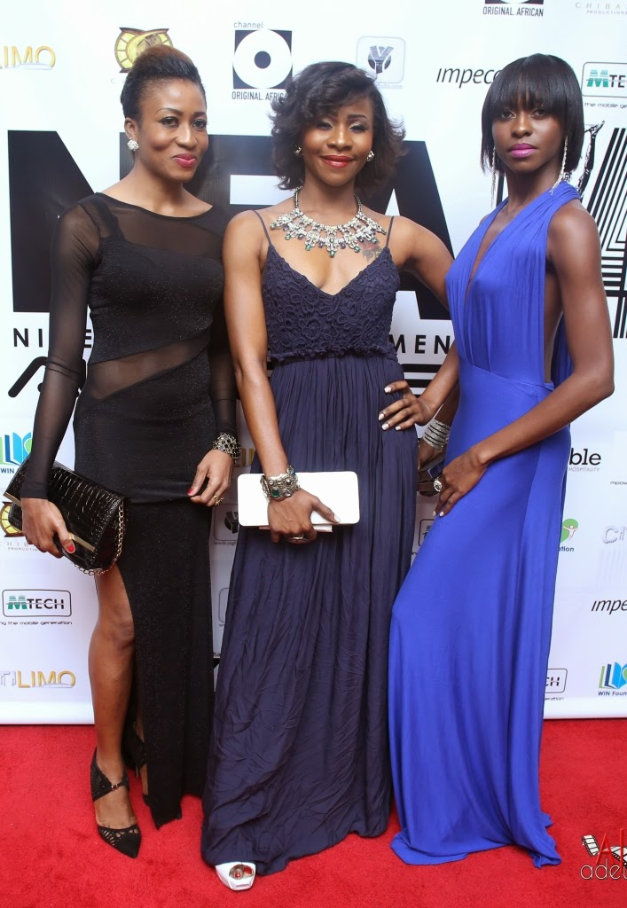 P67A9934 Red carpet photos from 2014 Nigeria Entertainment Awards