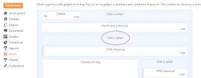 Resultado de imagen de menu blogger diseño
