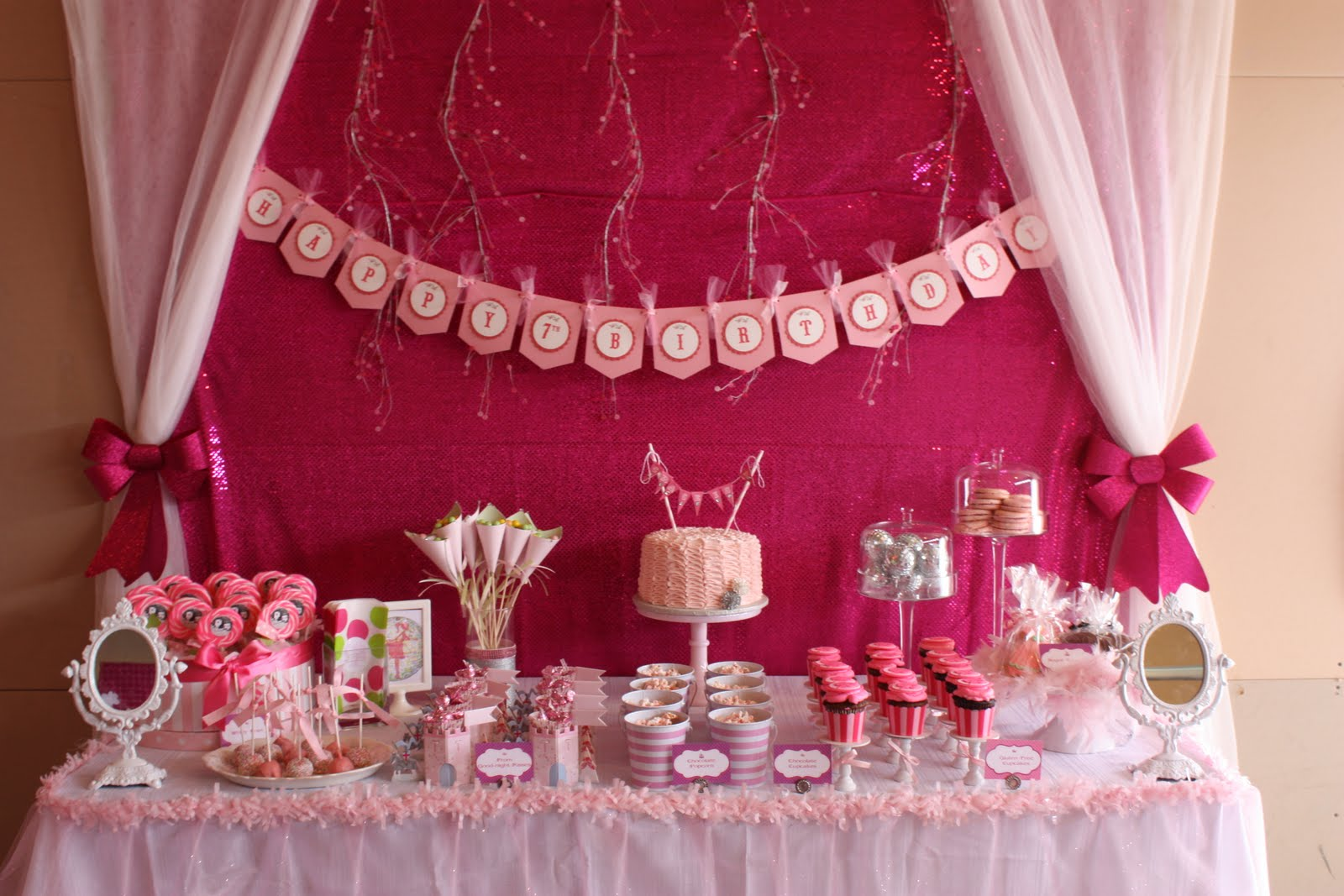 Buckets Of Grace Enchanted Prom Birthday Party Part Ii The Sweets Table