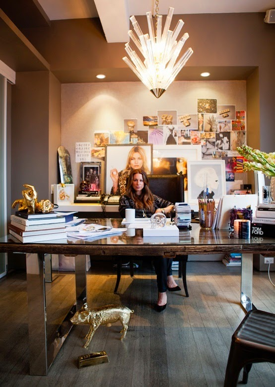 inspiring woman home office ideas | INSPIRED DESIGN: Work it! Inspiring Home Office Spaces