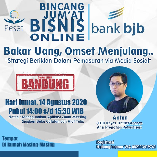 Bank bjb Dorong UMKM Kembangkan Strategi Iklan Digital