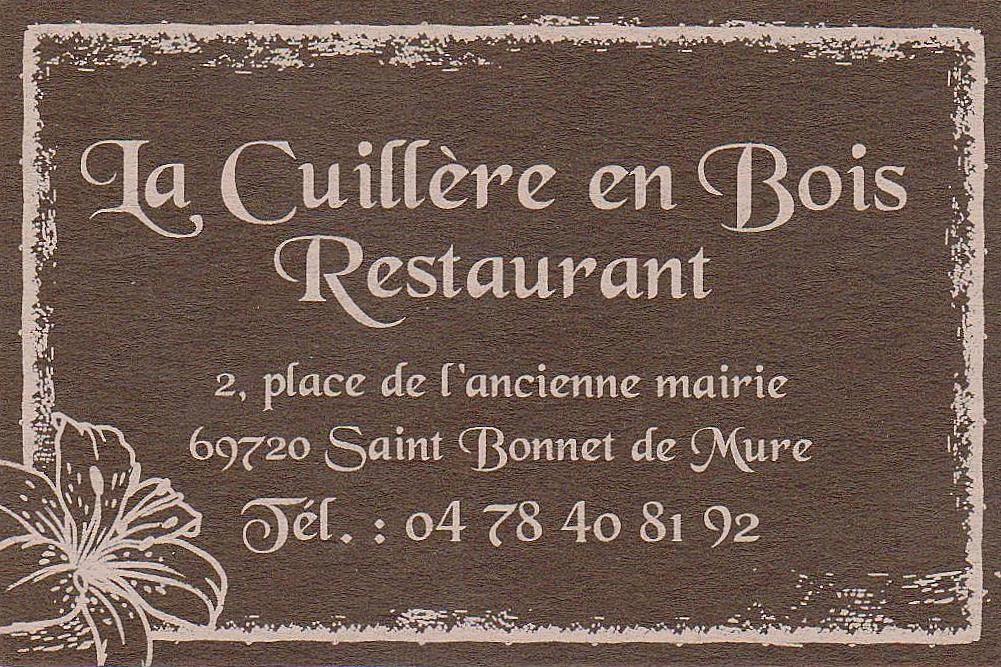the traveler 39 s drawer la cuill re en bois restaurant saint bonnet de mure rh ne france. Black Bedroom Furniture Sets. Home Design Ideas