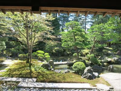 viewing garden, Japan