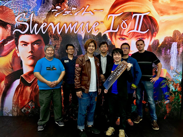 Shenmue I & II Two-Hour Talk Panel with Masaya Matsukaze