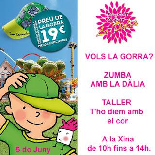 La Dalia Maspujols, Ajuda'ns a ajudar, Posa't la gorra, afanoc, xuclis, cancer, nens