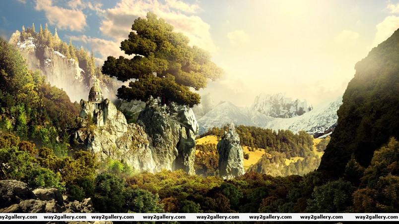 3d landscape wallpaper
