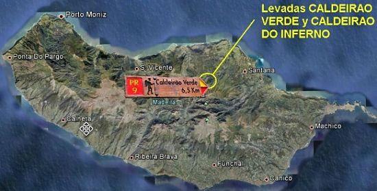 Levada Pico das Pedras Madeira