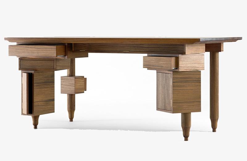 Le bureau de Paolo by Sam Baron