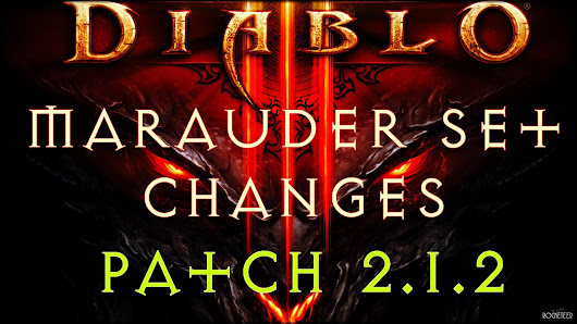 EchogazeGaming: Diablo 3 Patch 2.1.2 Marauder Set Changes with Big Damage Boosts