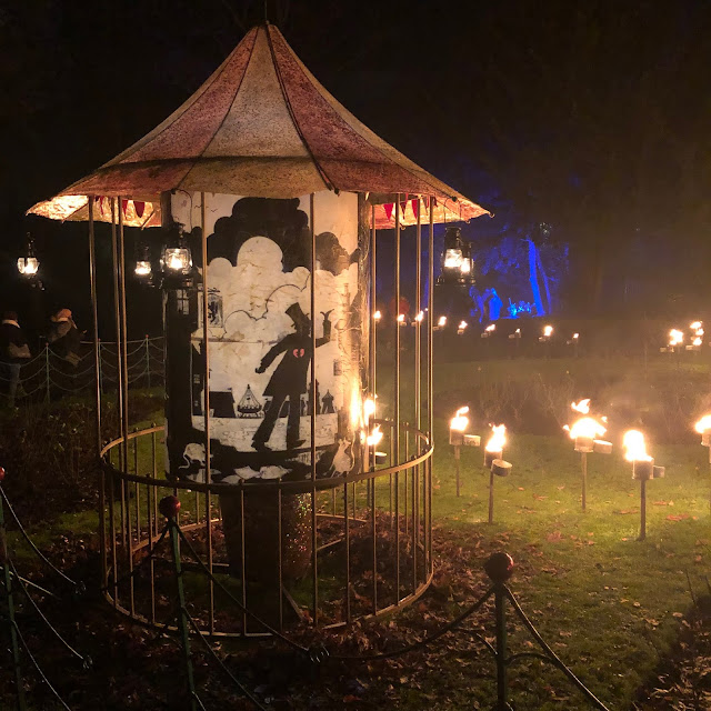 Enchanted Parks: Saltwell Park, Gateshead: light and fire
