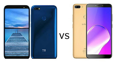 Yu Ace vs Infinix Hot 6 Pro