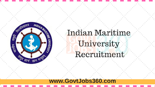 Indian Maritime University Recruitment 2016-2017 for Various Posts