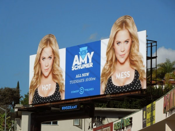 Inside Amy Schumer 2 Comedy Central billboard
