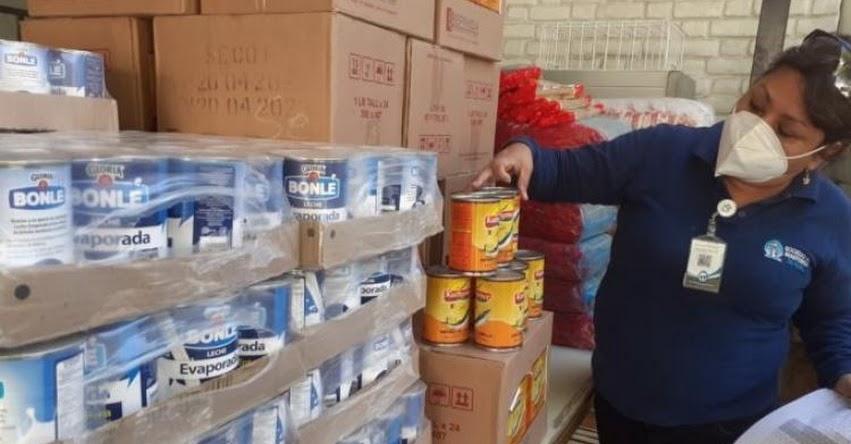 QALI WARMA: Programa social entrega 4.9 toneladas de alimentos a usuarios de Beneficencias Públicas de Chulucanas, Paita, Sullana y Piura - www.qaliwarma.gob.pe