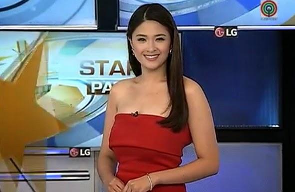 Yam Concepcion on TV Patrol segment Star Patrol