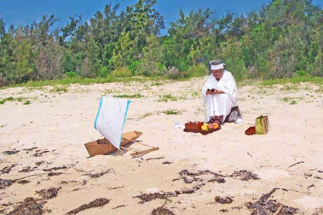 Abushibare,beach,boat,culture, Okinawa, rituals