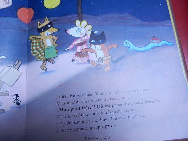 || La fête de Billy (Présentation & Avis)(Chut, les enfants lisent #19)
