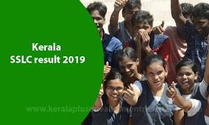 SSLC result 2019 | Kerala SSLC /10th exam result punishing date