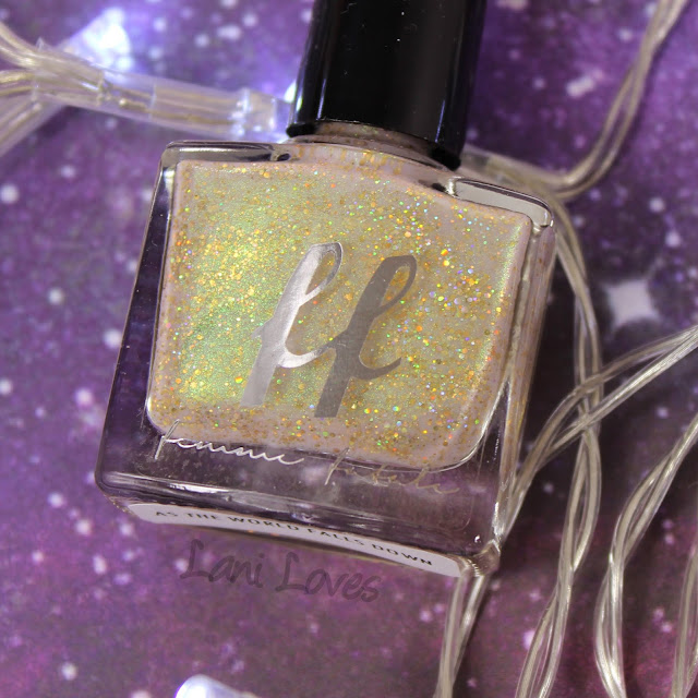 Femme Fatale Cosmetics As the World Falls Down Nail Polish Swatches & Review