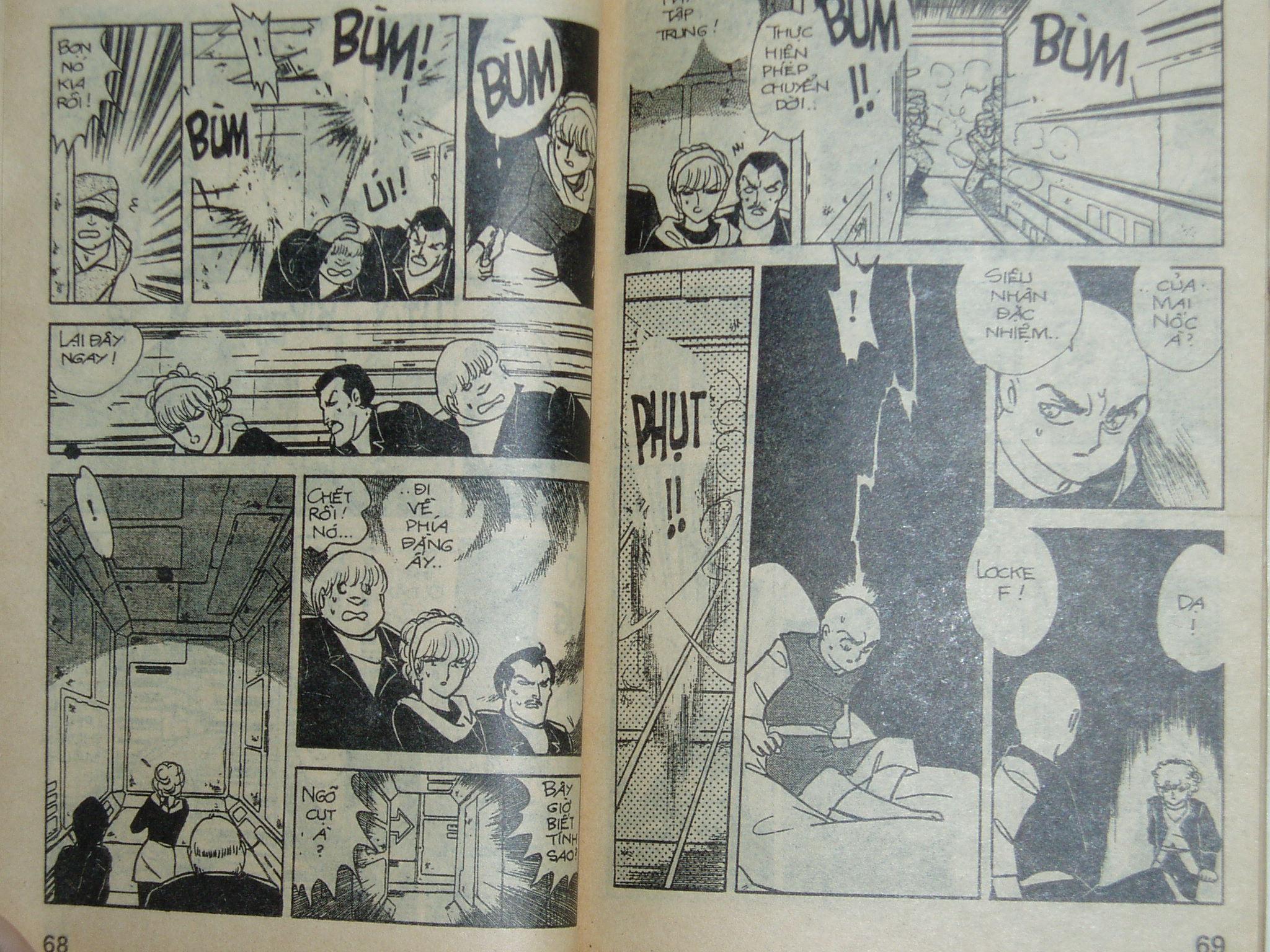 Siêu nhân Locke vol 13 trang 33