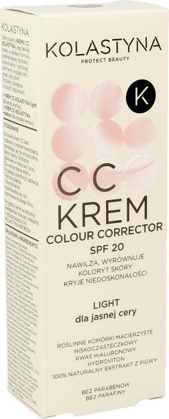 KOLASTYNA CC krem kolor  light - recenzja