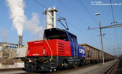 Lokomotywa Eem 923 dla kolei SBB Cargo