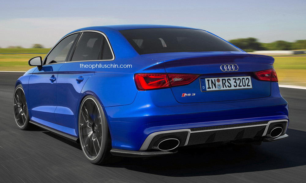 Audi Rs3 Sedan To Enter Production With 400hp Carscoops Com